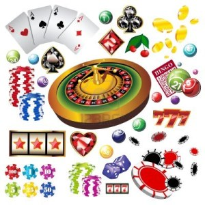 12820044-the-set-of-vector-casino-elements-or-icons-including-roulette-wheel-playing-cards-chips-dice-and-mor